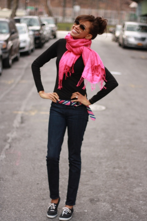 black-keds-with-pink-outfit-winter
