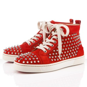 christian-louboutin-louis-womens-flat-spikes-suede-sneakers-mandarin-red-sole-shoes