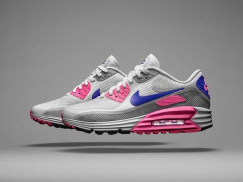 Nike Air Max Lunar90 C3.0 Women's WhiteConcord-Pink Glow