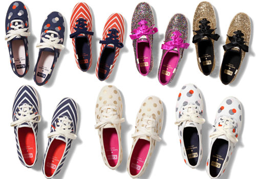Keds x Kate Spade Collection | sneaksteens