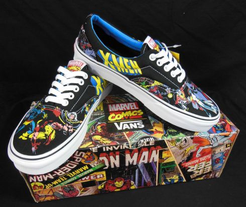 Vans Marvel lace-up sneakers