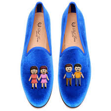 emoji gay pride loafers