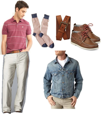 sperry outfit for men