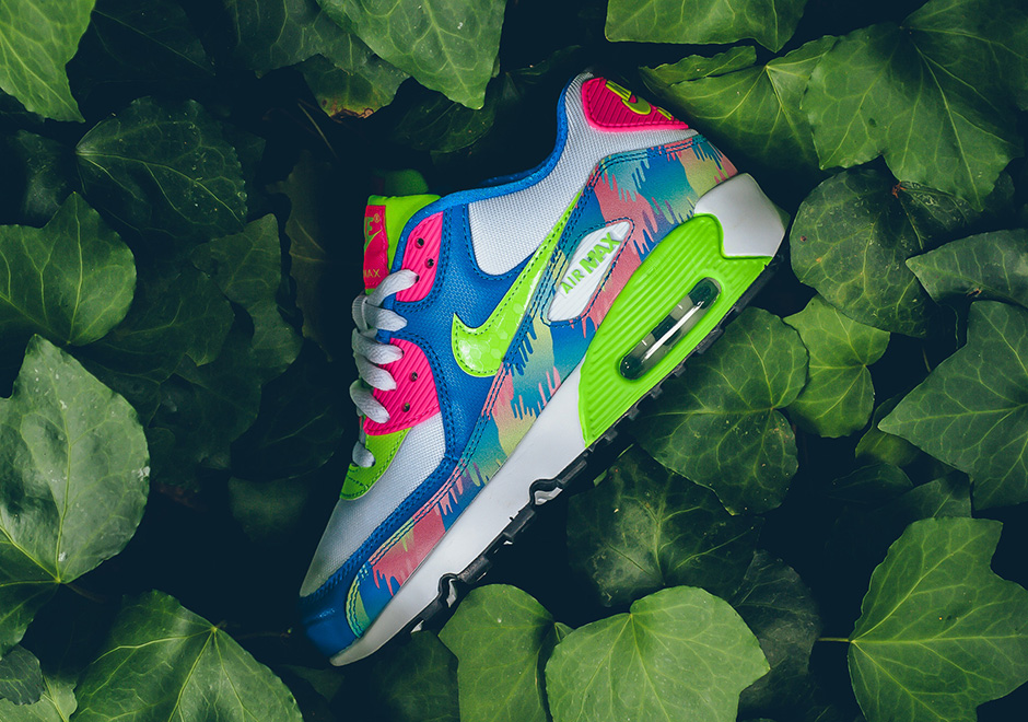 Bright Colors Are Still In For Kids And The Nike Air Max 90